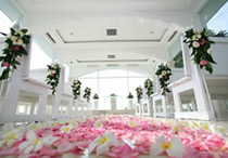 bali blue point chapel wedding