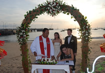 bali tuban beach wedding agency